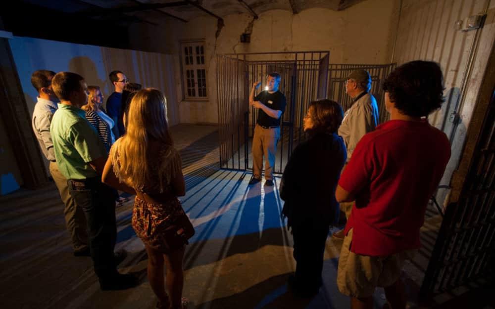 Haunted Jail Tour Charleston Sc Old City Sept 2016