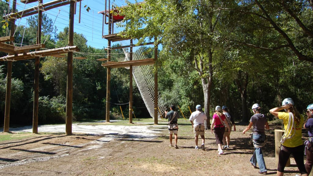 Image of Challenge Course - James Island County Park