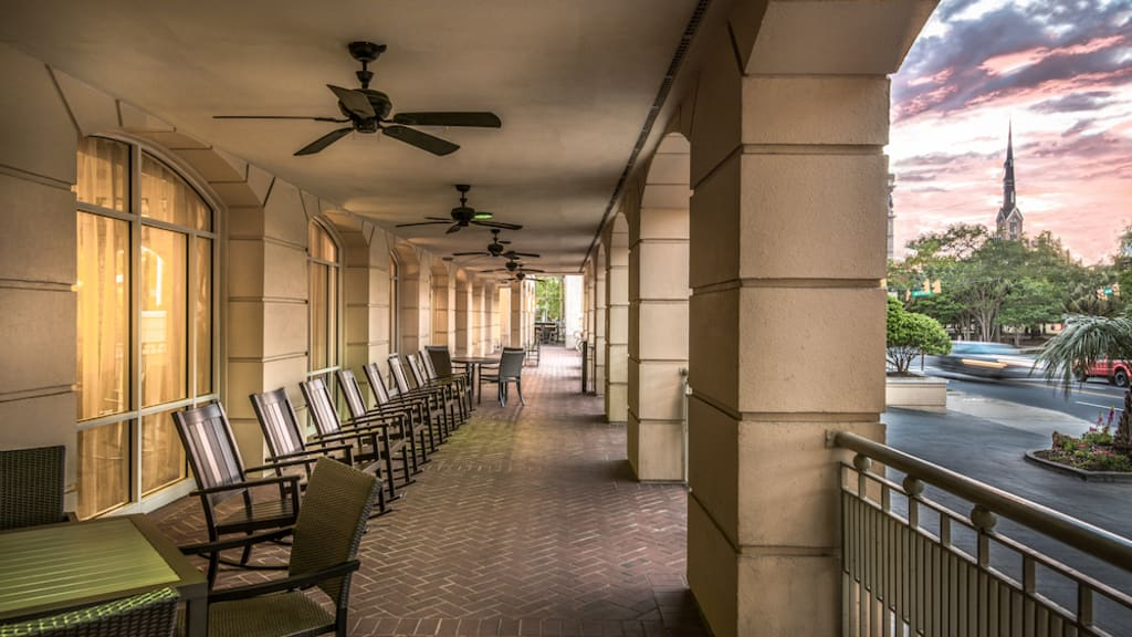 Image of Courtyard Charleston Historic District