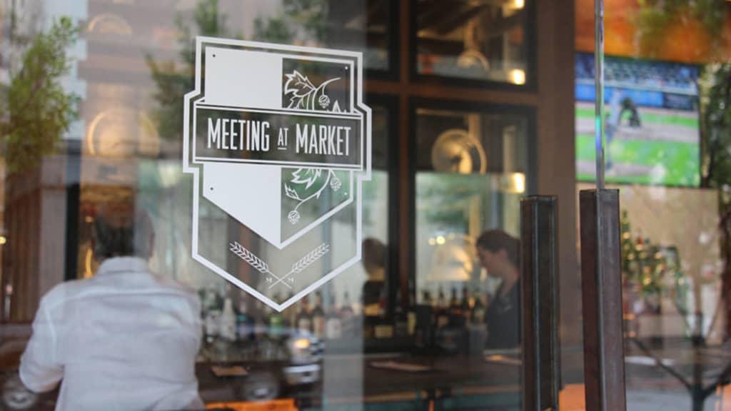 Image of Meeting at Market
