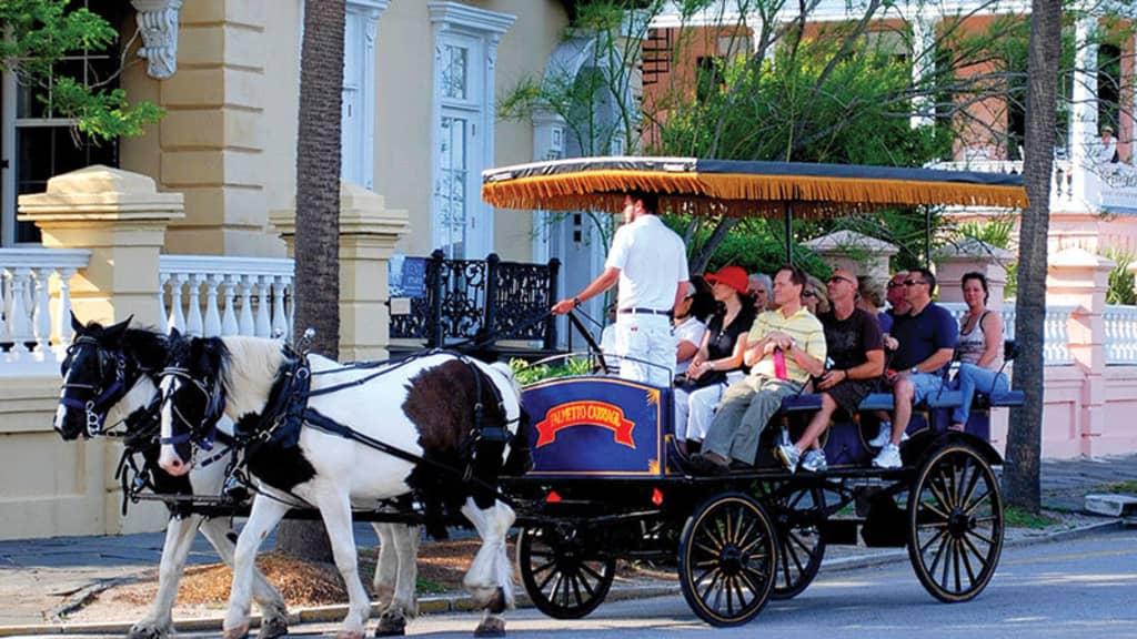 Image of Charleston Harbor Tours & Palmetto Carriage Works Combo