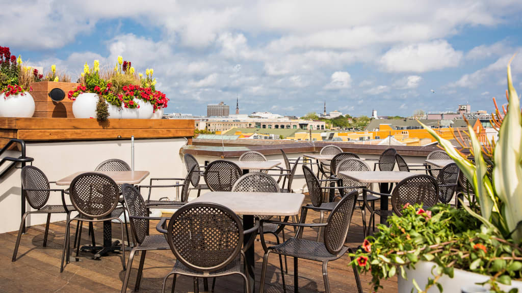 Image of The Rooftop Bar at The Vendue