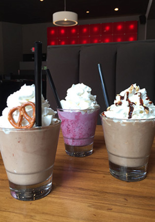 Milkshakes at DLUX