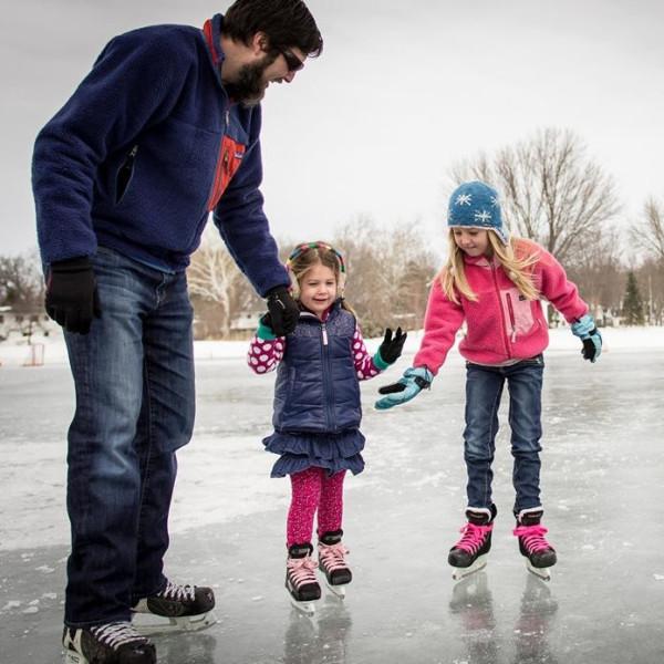 Ice Skating in Madison
