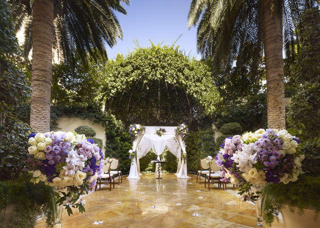 Walk Way to Wedding Alter