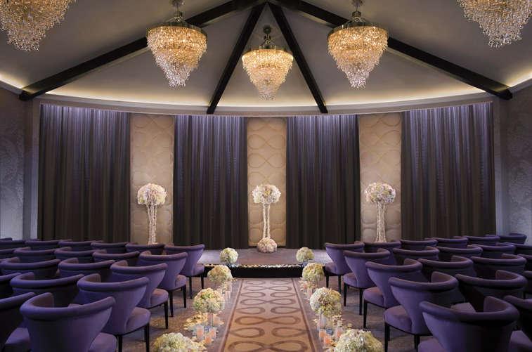 Aria Wedding Chapel Interior