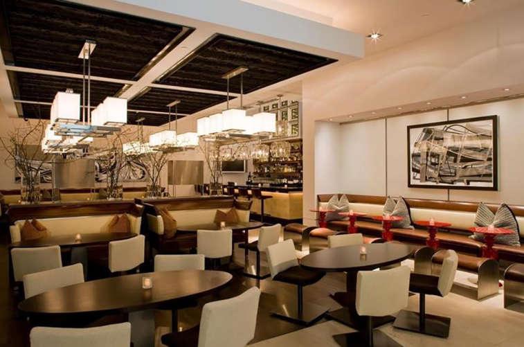 Wolfgang Puck Restaurant Interior