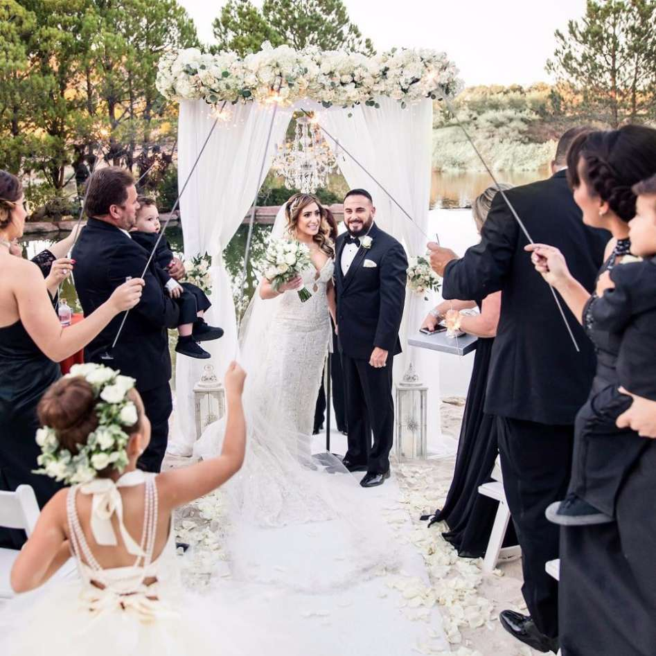 Wedding at Hilton Lake Las Vegas