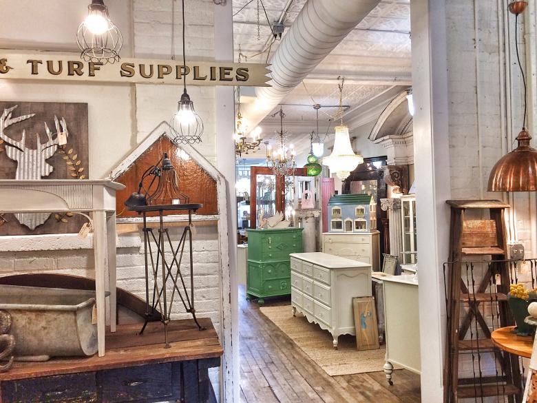 Blue Door Antiques - Grand Rapids Home Décor Stores Antique Stores Grand Rapids