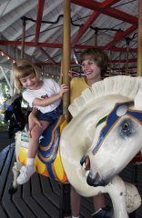 Broome County Carousels