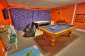 Game Room at Enchanted House