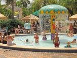our splash pool