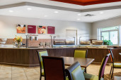 Complimentary Hot Breakfast at Comfort Suites