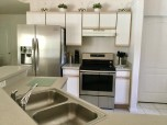 Spacious kitchens - upgraded stainless steel appliances