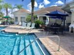Windsor Palms resort pool, tiki bar