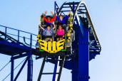 Project X roller coaster at LEGOLAND(R) Florida Resort