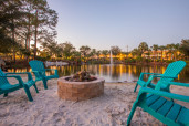 Sandy Beach Areas with Fire Pits
