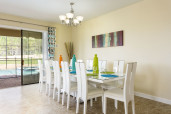 Affordable Luxury  - Dining Room