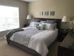 King size beds - modern decor