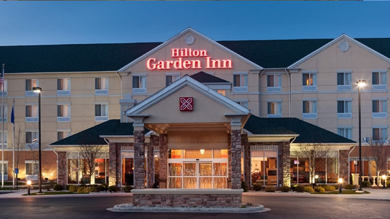 ... Hilton Garden Inn Merrillville Hotel Exterior ...