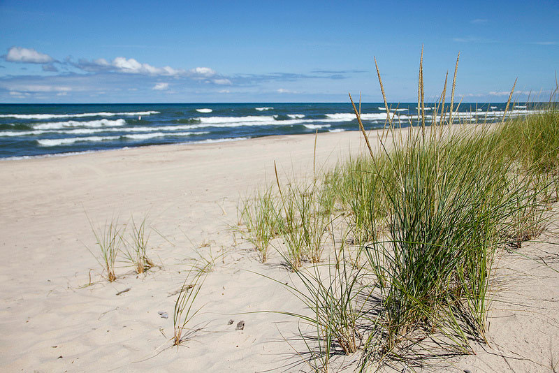 Indiana Dunes National Lakes Beach