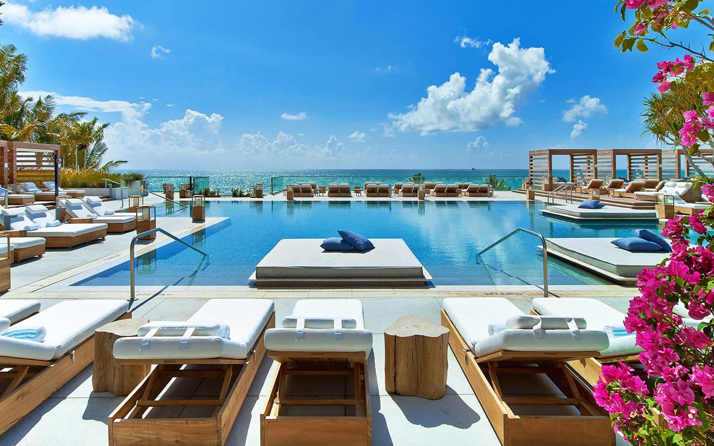 1 Hotel South Beach's Beautiful Center Pool