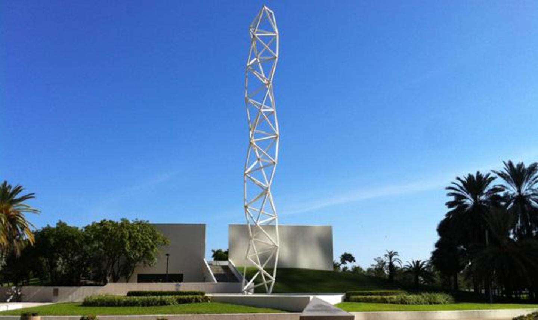 The Challenger Memorial at Bayfront Park