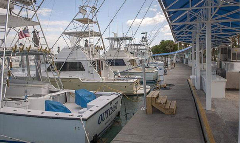 Deep sea fishing charter boats