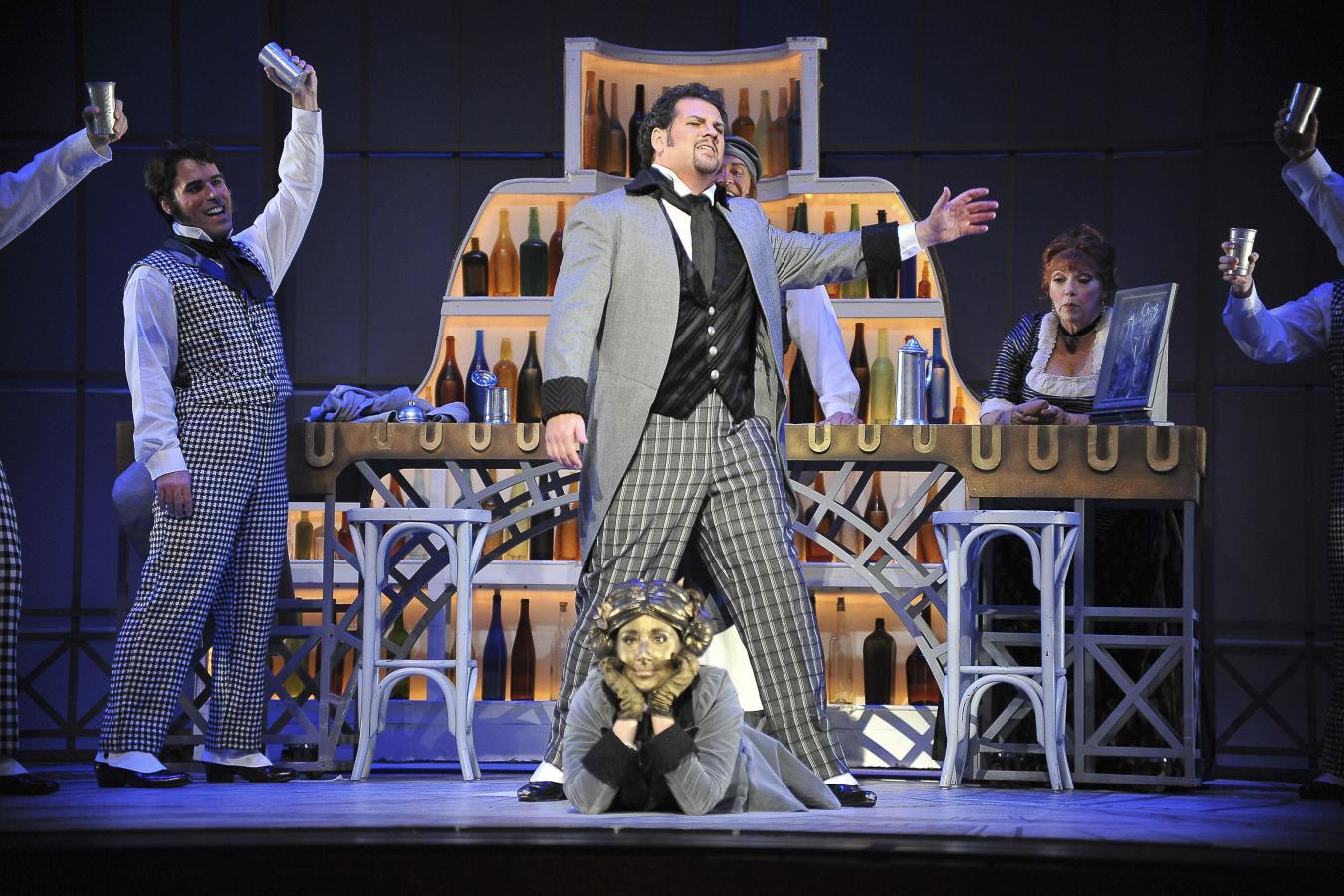 David Pomeroy and Katherine Rohrer in Florida Grand Opera's Hoffmann 2011