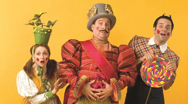 Irene Adjan, Stephen Trovillion and Antonio Amadeo in Splat! Summer Shorts '07 (City Theatre, Miami)
