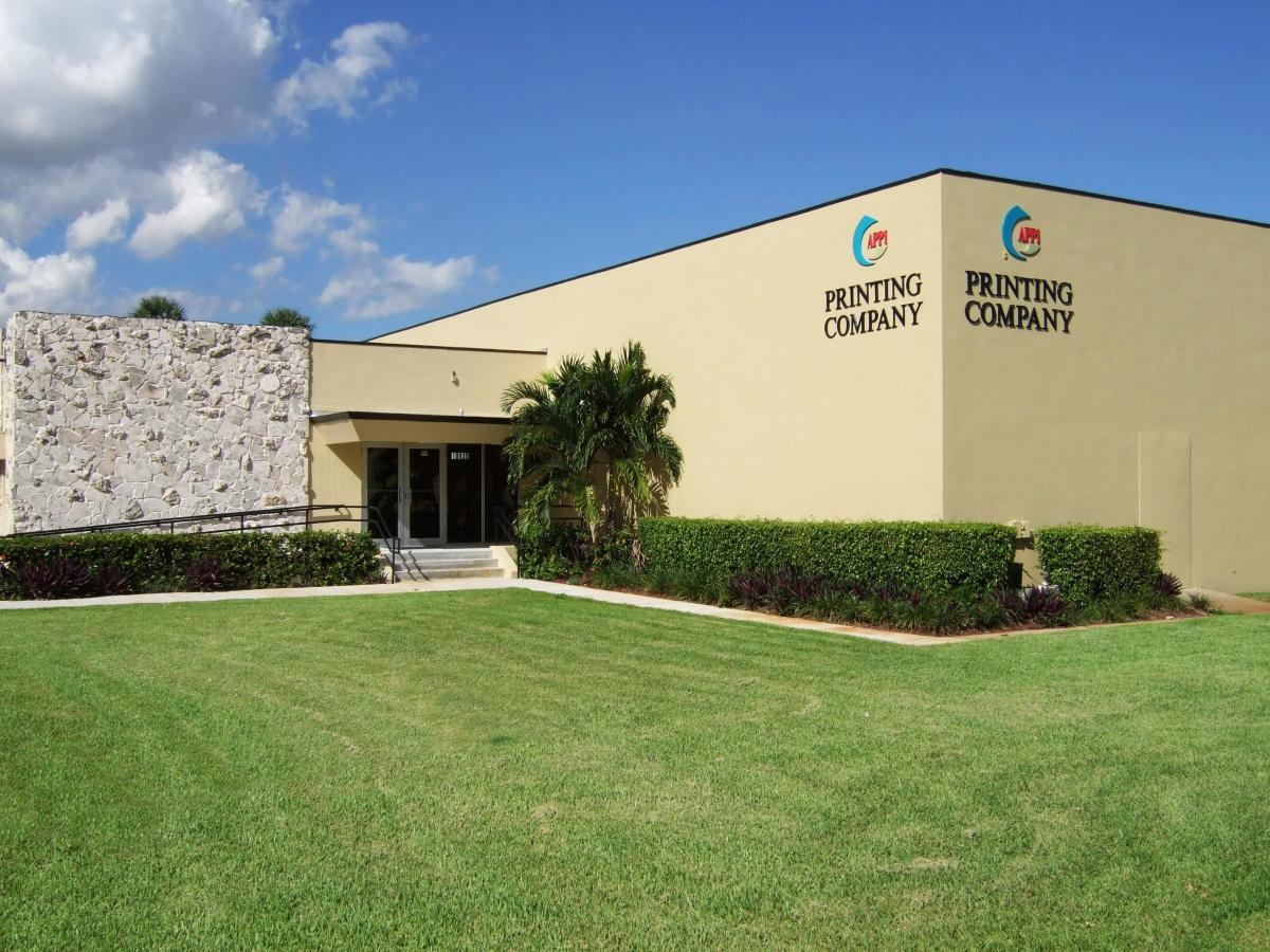 Associated Printing Productions Inc Miami Lakes, Florida facility.