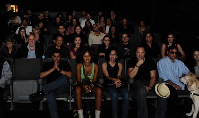 O Cinema audience