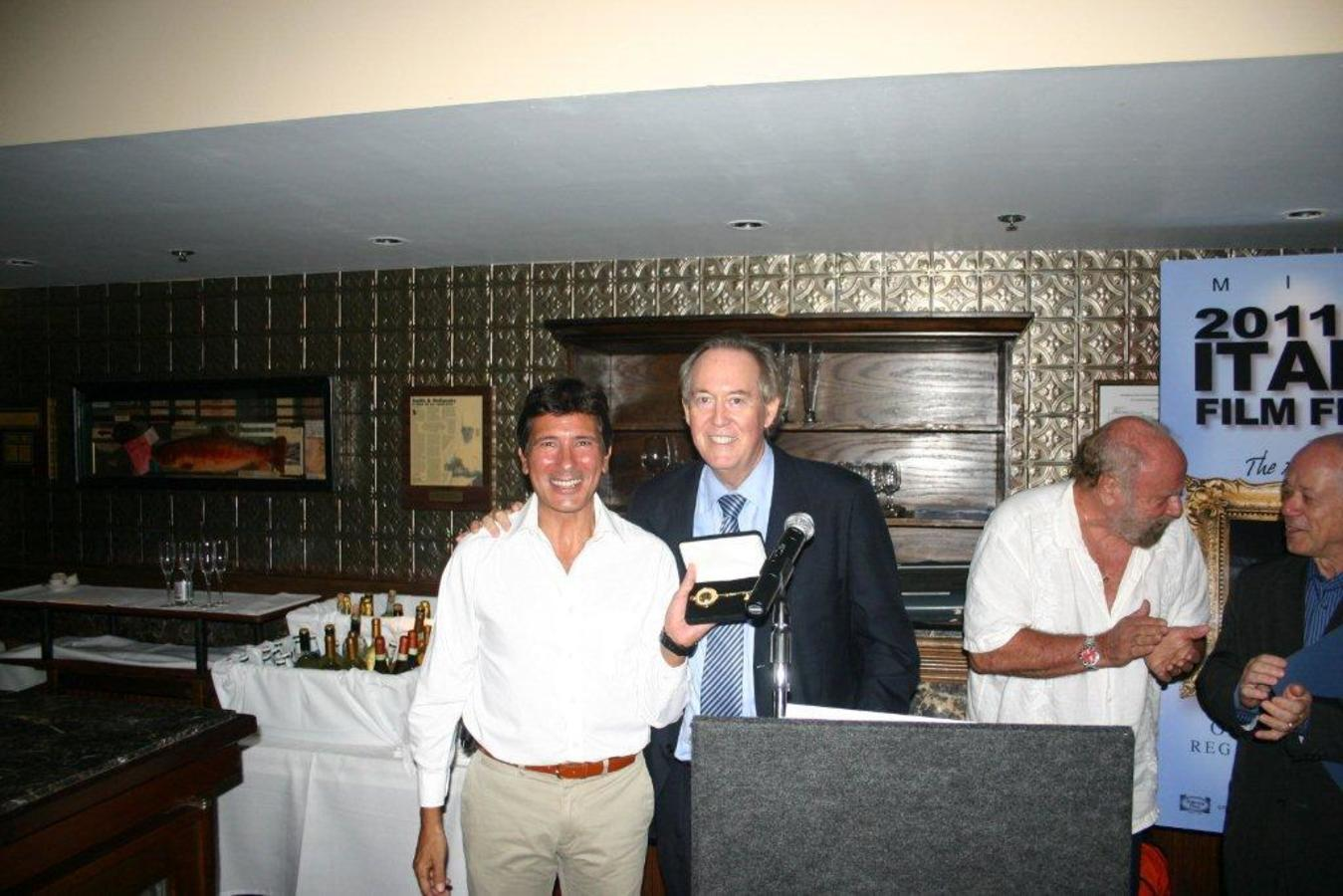 Festival Director Claudio Di Persia and Commissioner Jerry Libbin Closing Dinner