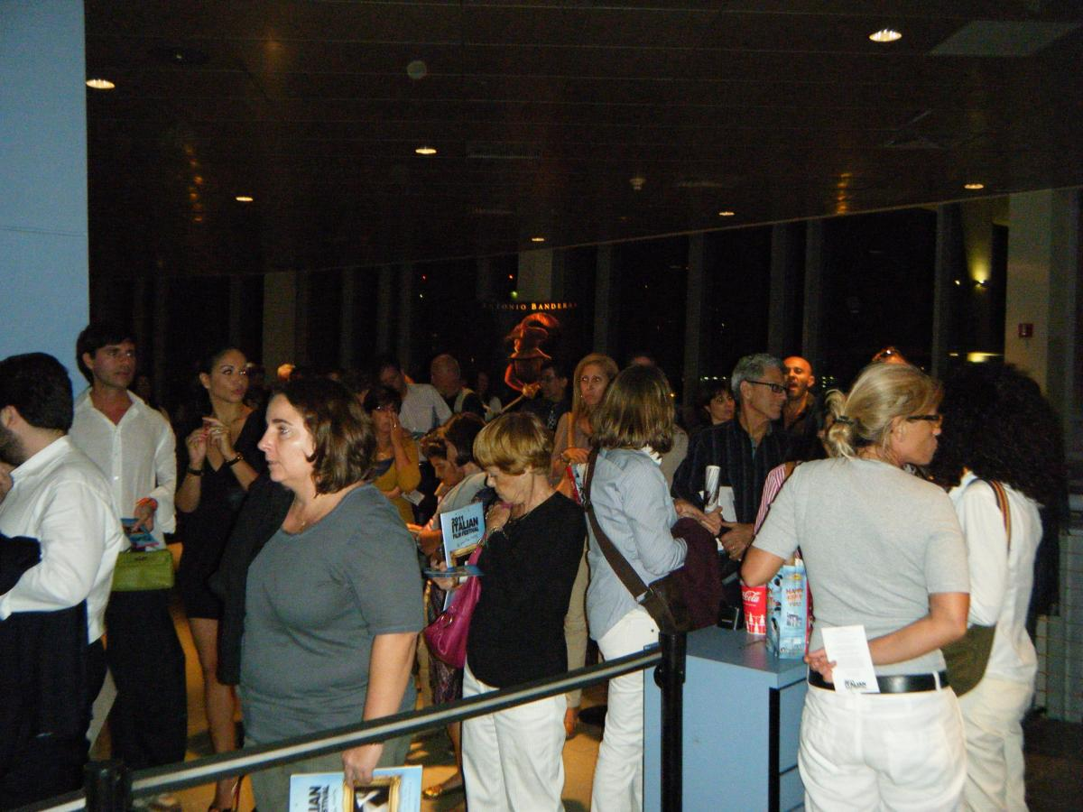 Audience at SoBe IFF Screening at Regal Cinema