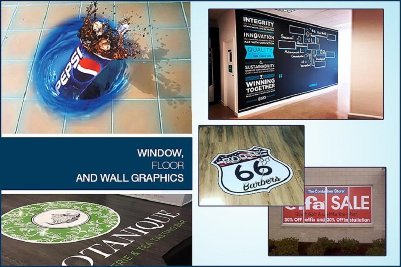 Window, Floor and Wall Graphics
