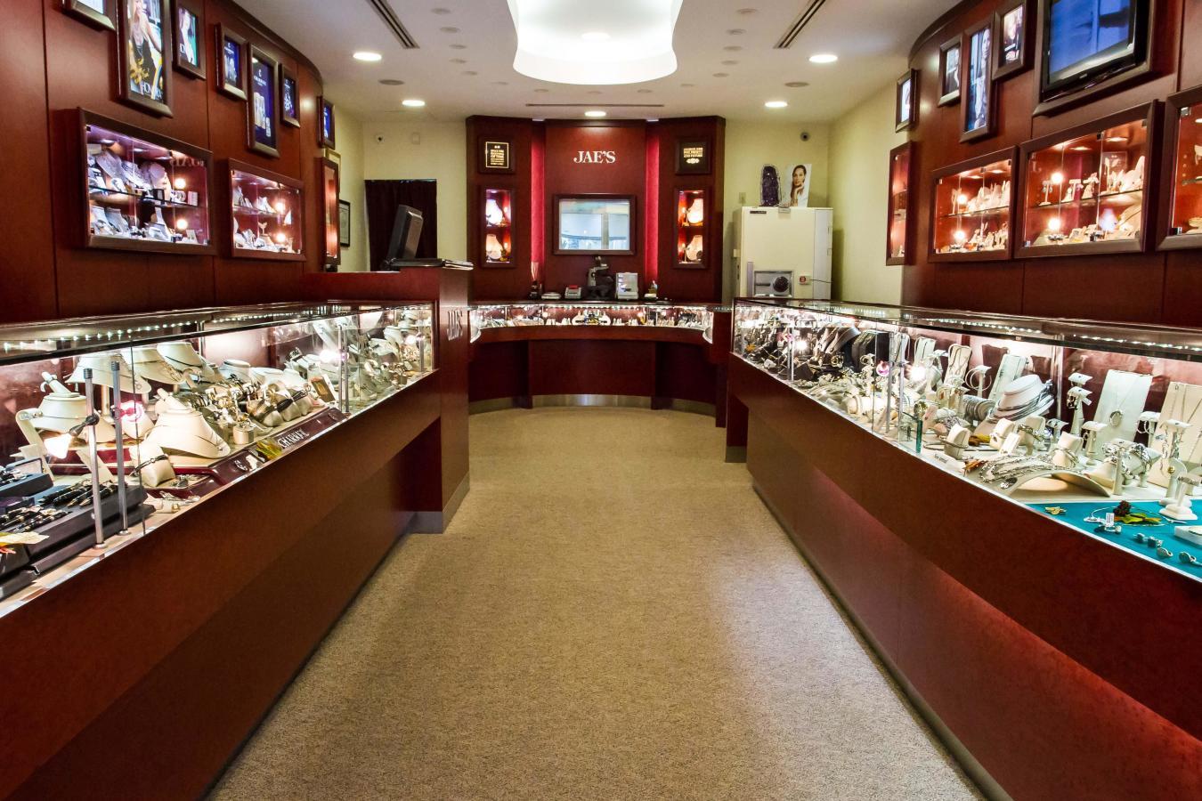 Inside Jae's Jewelers