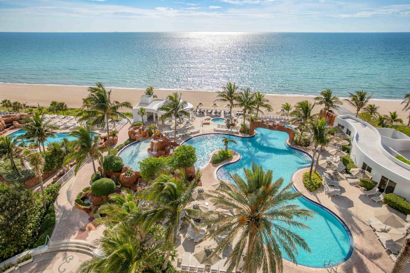 The beach at Trump International Beach Resort