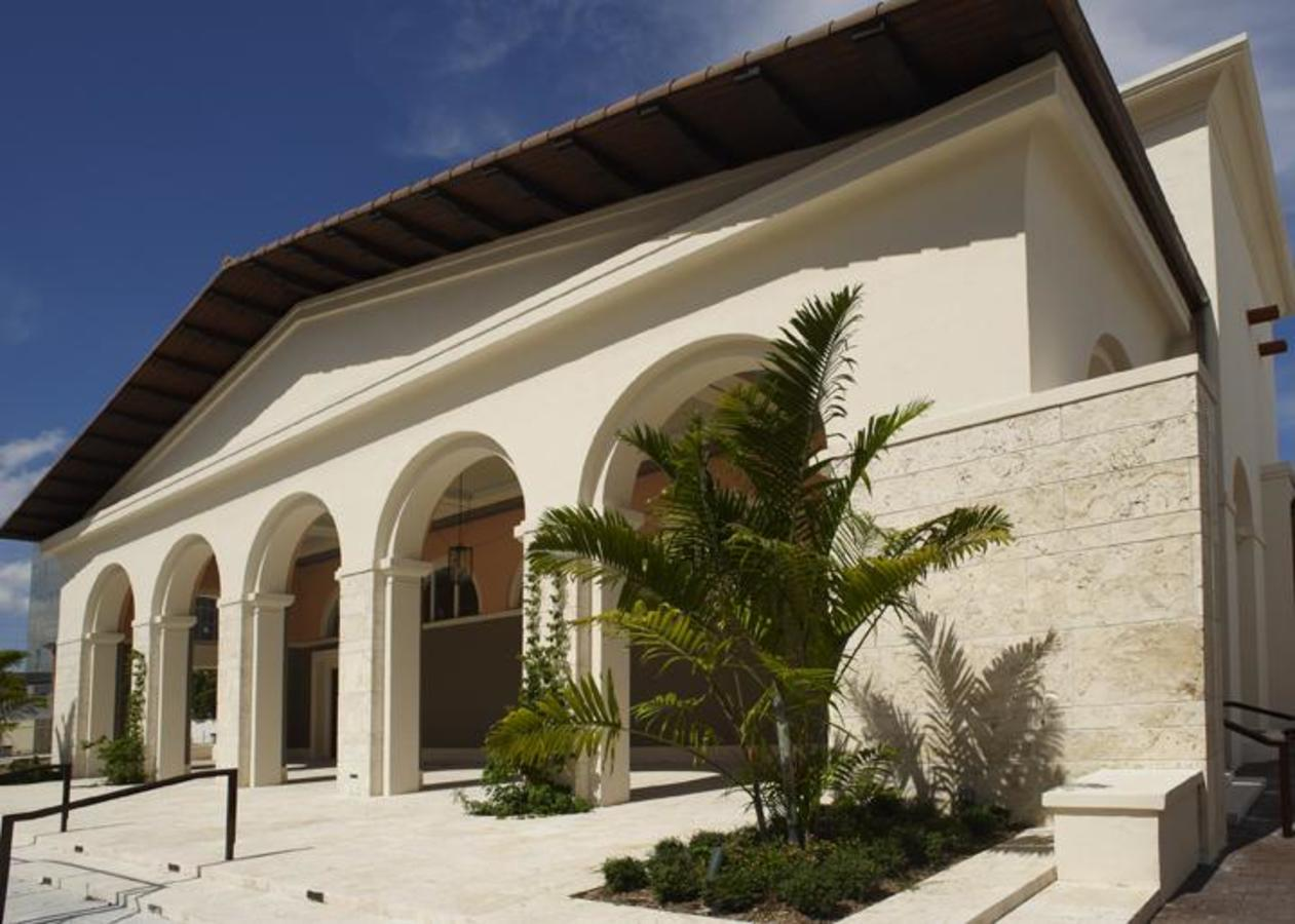 The Plaza at Coral Gables Museum - Where you can enjoy First Friday Gallery Nights, Jazz in the Gabl