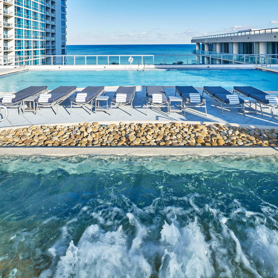 Atlantic Rooftop Pool