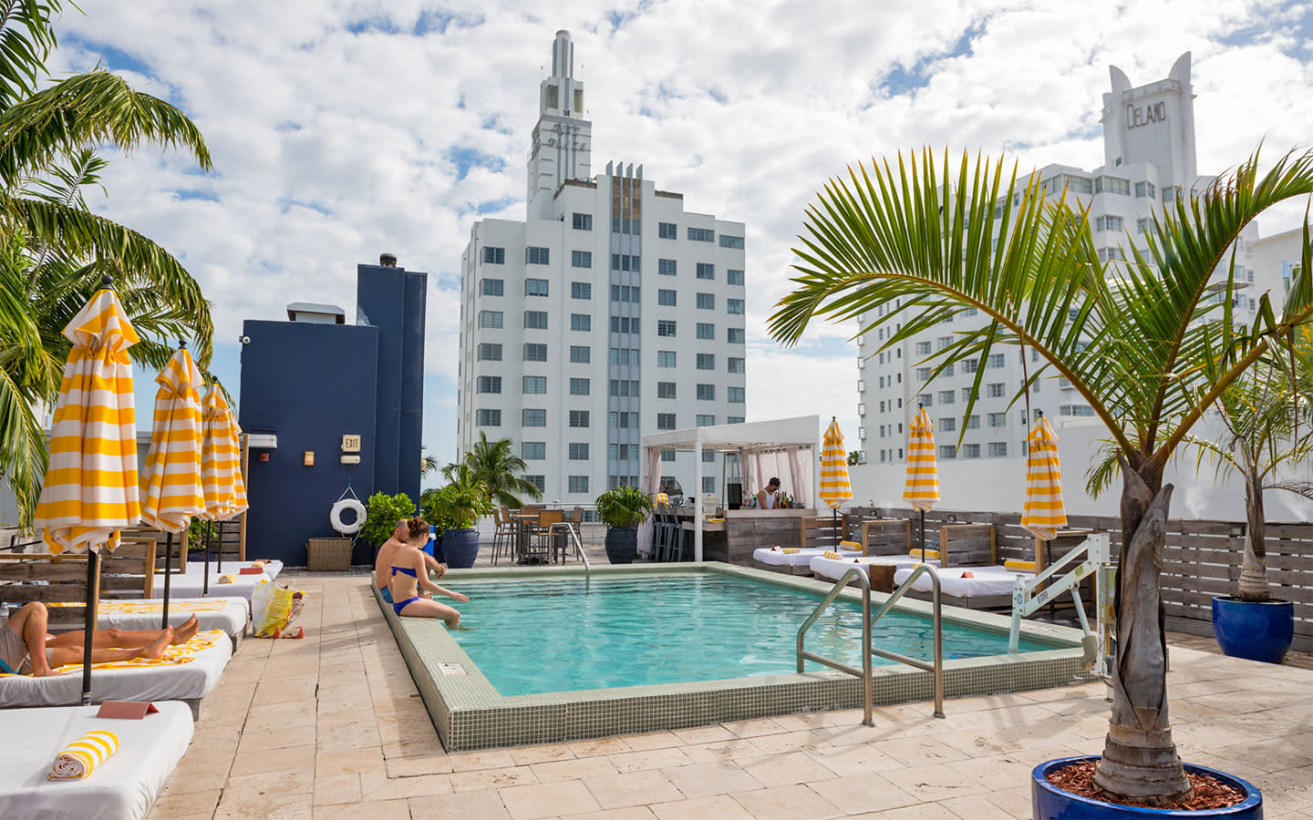 Rooftop Pool at the Catalina Hotel