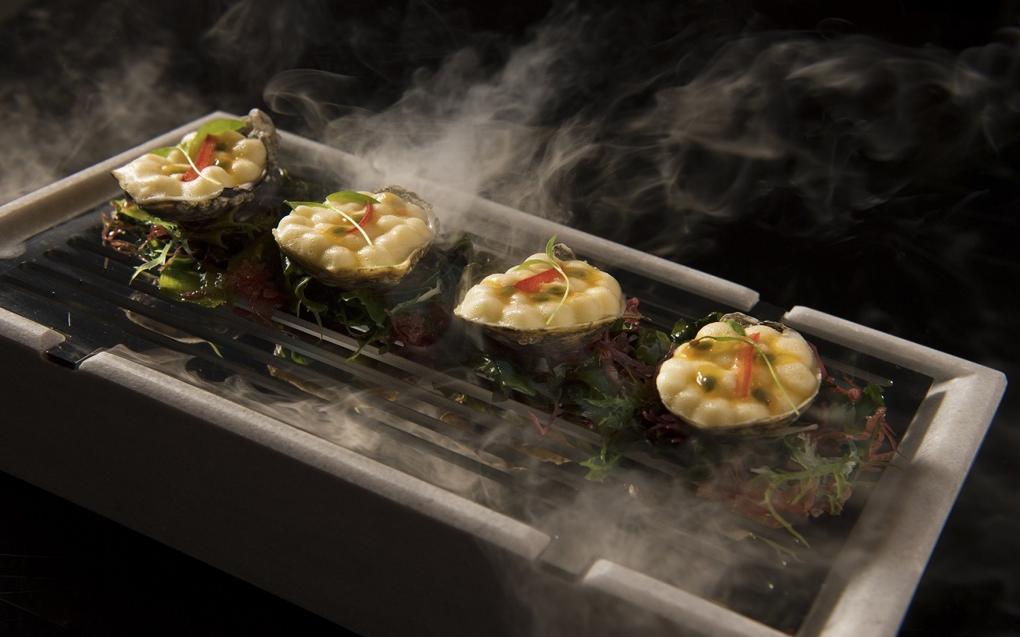 Chili Passion Oysters