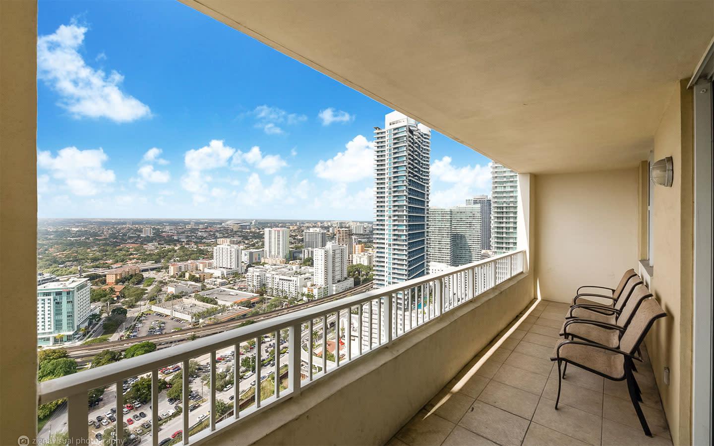 Churchill Suites apartment balcony