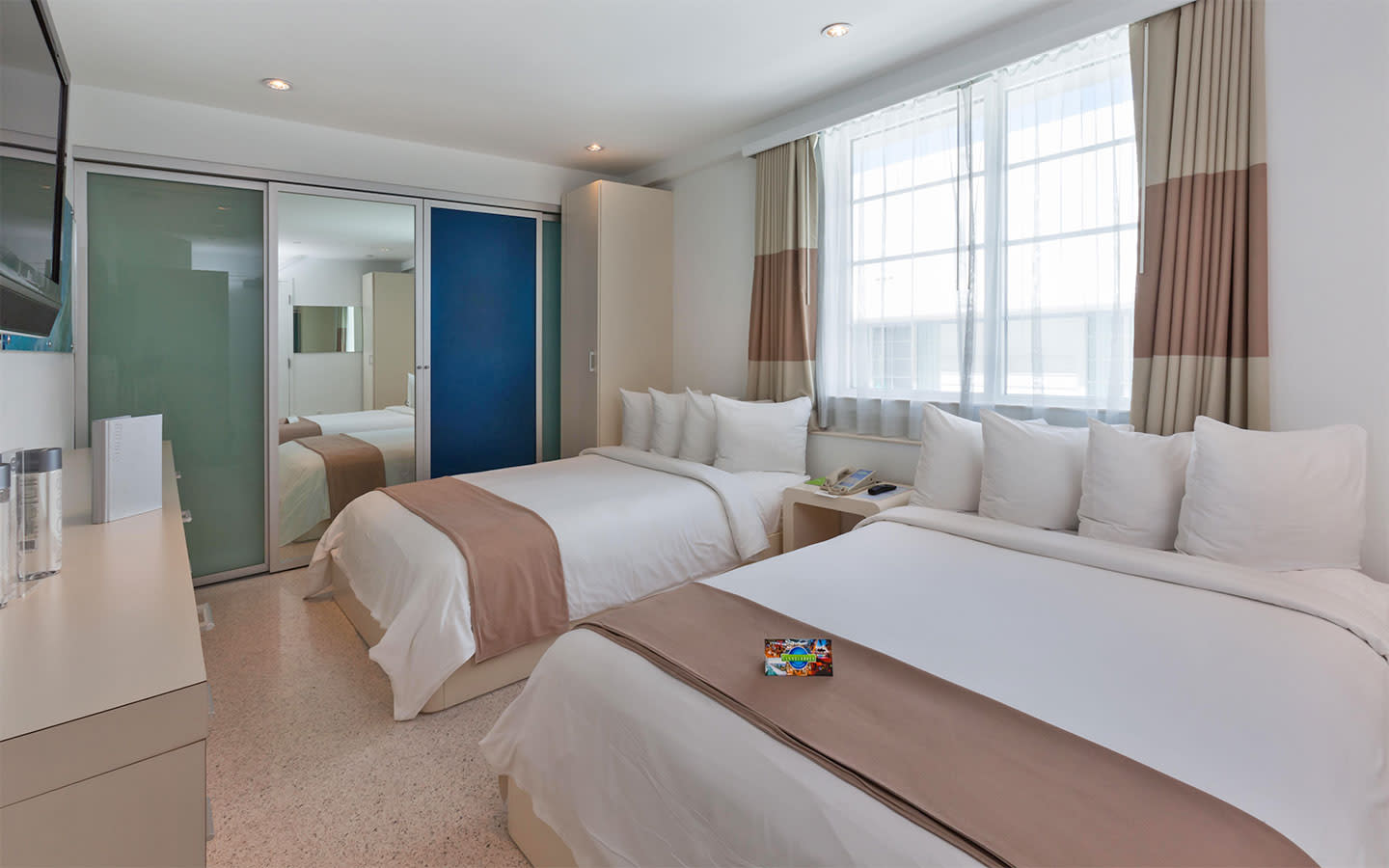 Backstage Suite with Double Beds