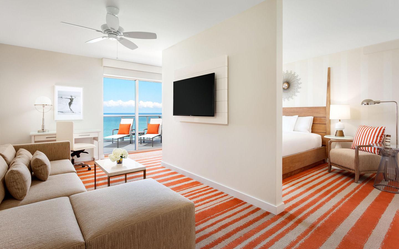 Cabana Ocean View Guestroom