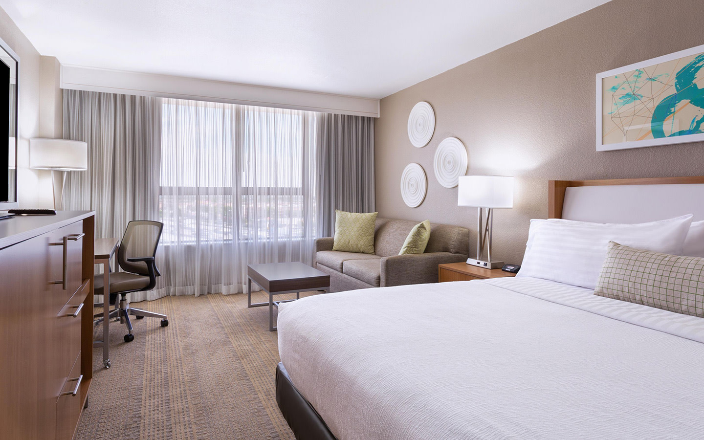 Newly Designed Modern Guest Rooms