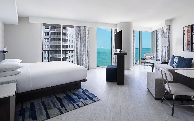 Hyatt Centric Brickell Miami Junior Suite Room