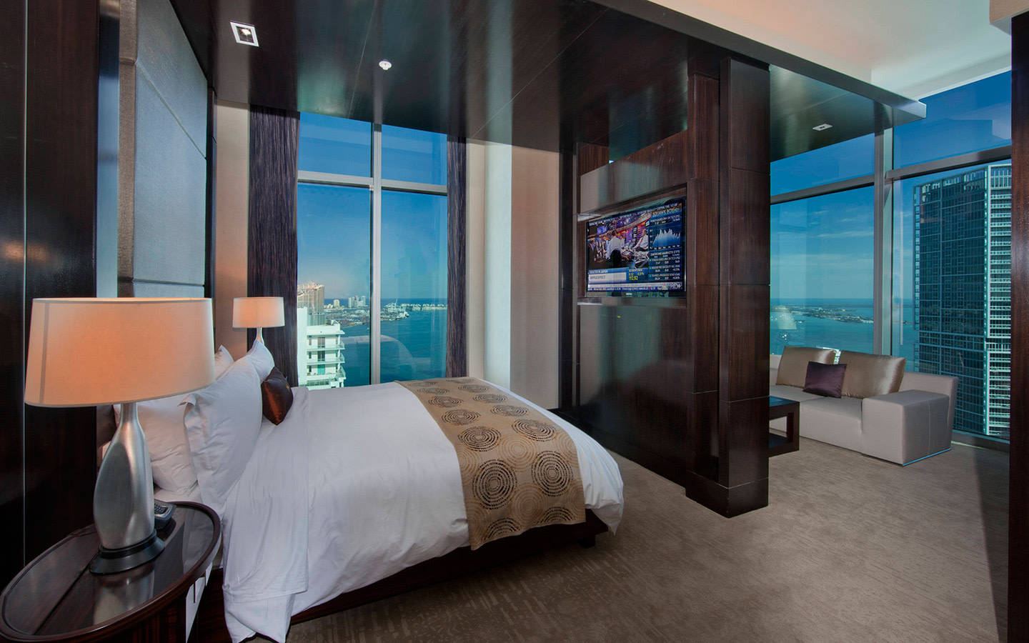 Vice-Presidential Suite Master Bedroom