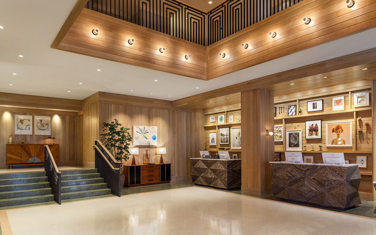 Art Deco Inspired Style Lobby