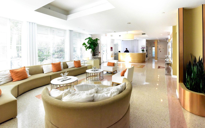 Pestana South Beach lobby