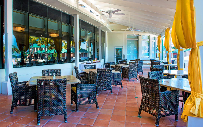Outside Terrace Restaurant